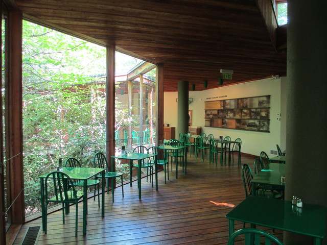 Fallingwater visitors center cafe