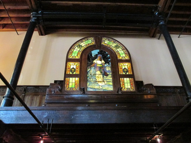 The Old Spaghetti Factory stained glass, St. Louis, Missouri