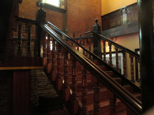The Old Spaghetti Factory stairway, St. Louis, Missouri